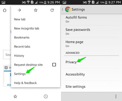 Cara Menghapus Cookies di Android (Browser Chrome, Mozilla, UC Browser) 5