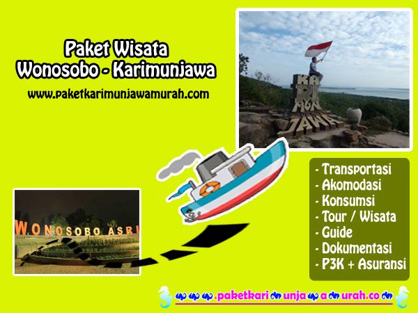 paket wisata wonosobo ke karimunjawa
