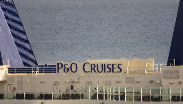 a detail in cruise ship Britannia