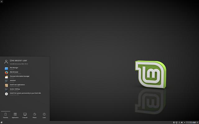 "Linux Mint 18.1 ""Serena"" KDE Edition"