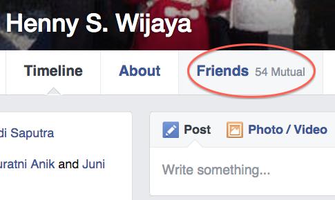 FacebookMutualFriends