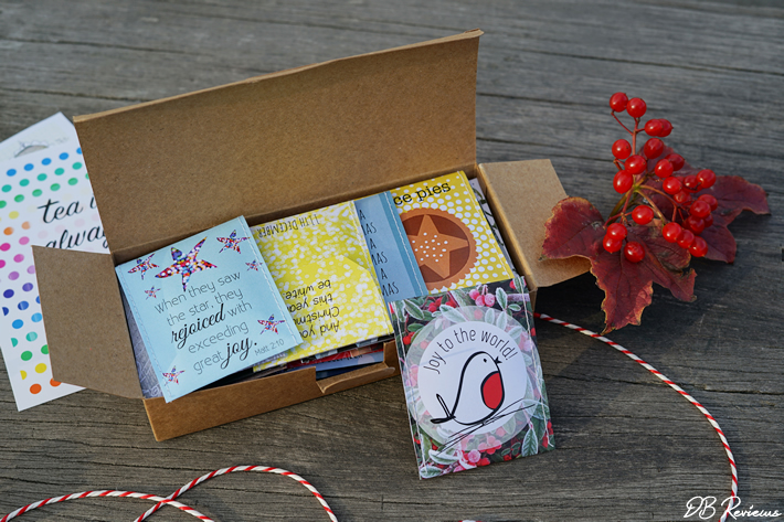 Tea Advent Calendar from Victoria Mae Designs