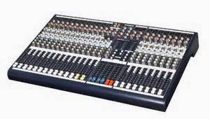 Pengaturan Kanal Audio Mixer