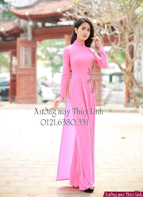 may áo dài đẹp tại Đống Đa-Hà Nội