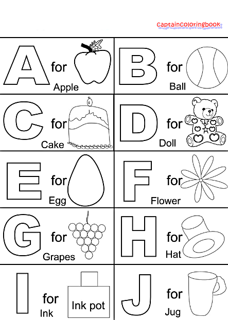 Teach Abc Alphabet To Kids Learn Coloring And Painting