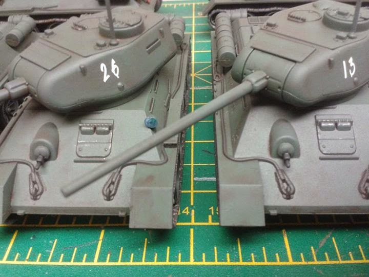 the pig's sty: Heavy Metal - Bolt Action Soviet T-34/85