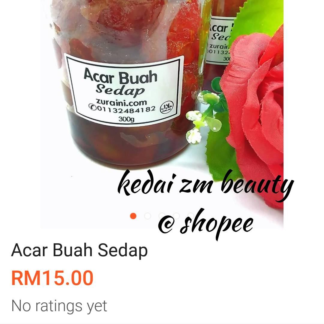 ACAR BUAH SEDAP @ SHOPEE