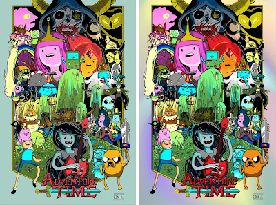 "Adventure Time ""Come Along With Me"" Screen Print by Tim Doyle x Galerie F"