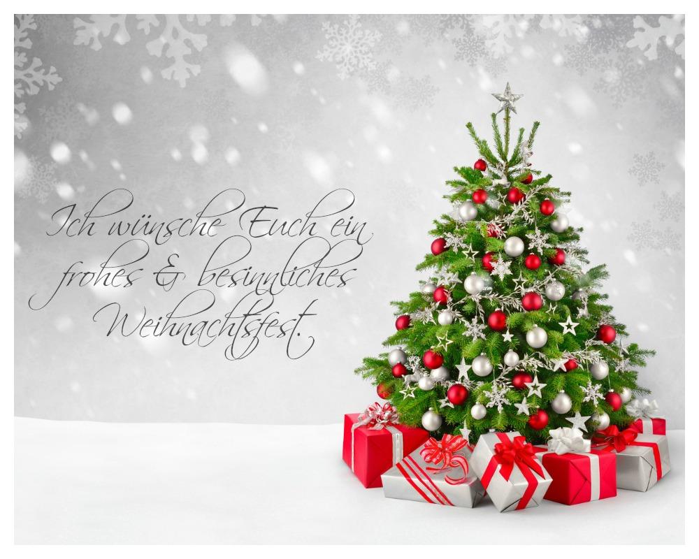 Ich Wünsche Euch Frohe Weihnachten Und Ein Gutes Neues Jahr.Papier Stempel Dezember 2016