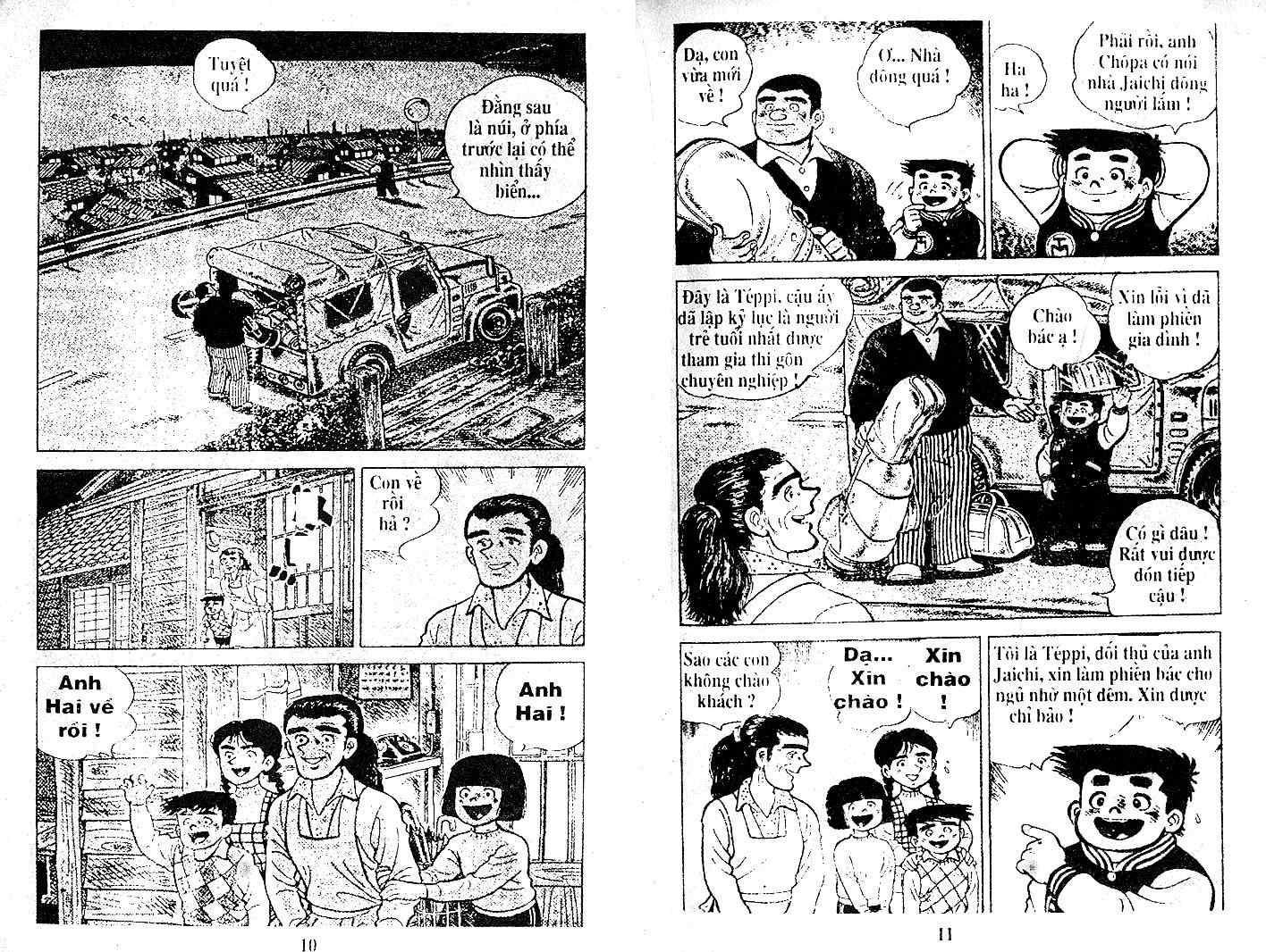 Ashita Tenki ni Naare chapter 21 trang 4