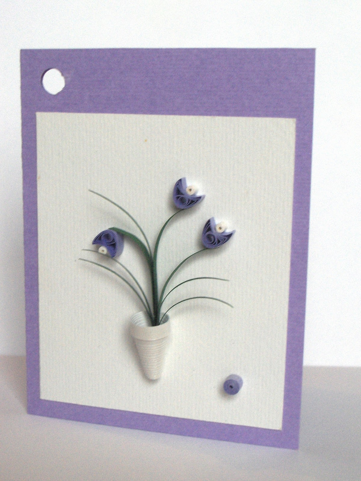 quilling with fun small cards