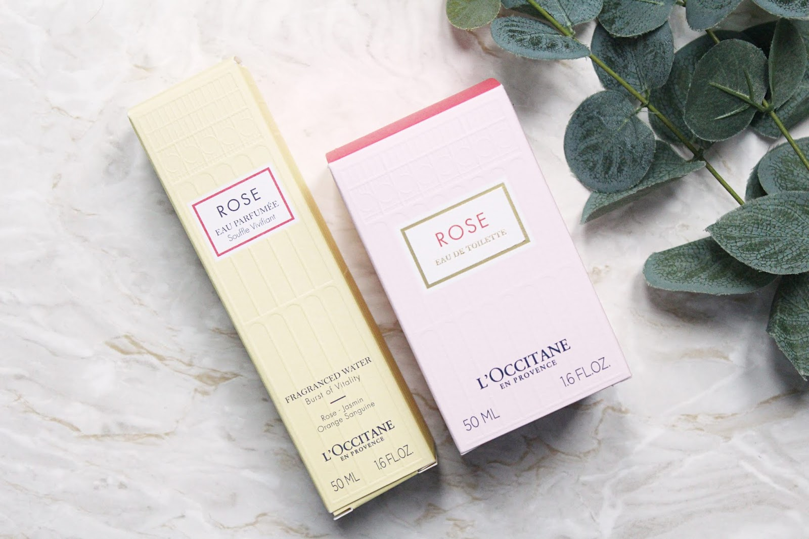 Two New Scents from L'Occitane