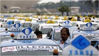 Petisi Damai Grab Taxi dengan Taxi Konvensional.