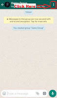 how to delete whatsapp group account