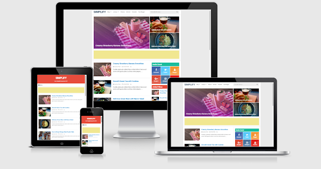Simplify 2 Responsive Blogger Template