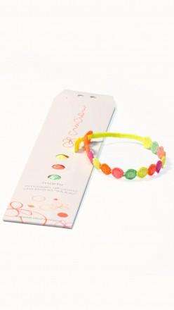 packaging braccialetti cruciani marte multicolor fluo