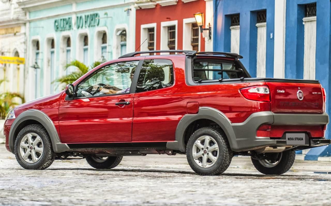 Fiat Strada - comercial leve mais vendido do Brasil
