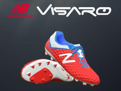 Red New Balance Visaro 2016 Boots