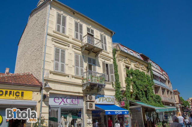 Architecture - Shirok Sokak street - Bitola, Macedonia