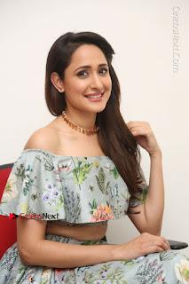 Actress Pragya Jaiswal Stills in Floral Dress at turodu Interview  0142.JPG