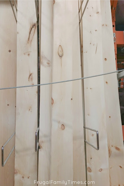 choosing best boards for shiplap ceiling DIY