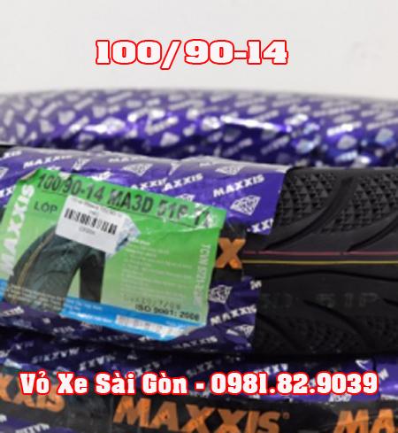 Vỏ xe máy Maxxis 100/90-14 3D Airblade, PCX, Click, Sh Mode