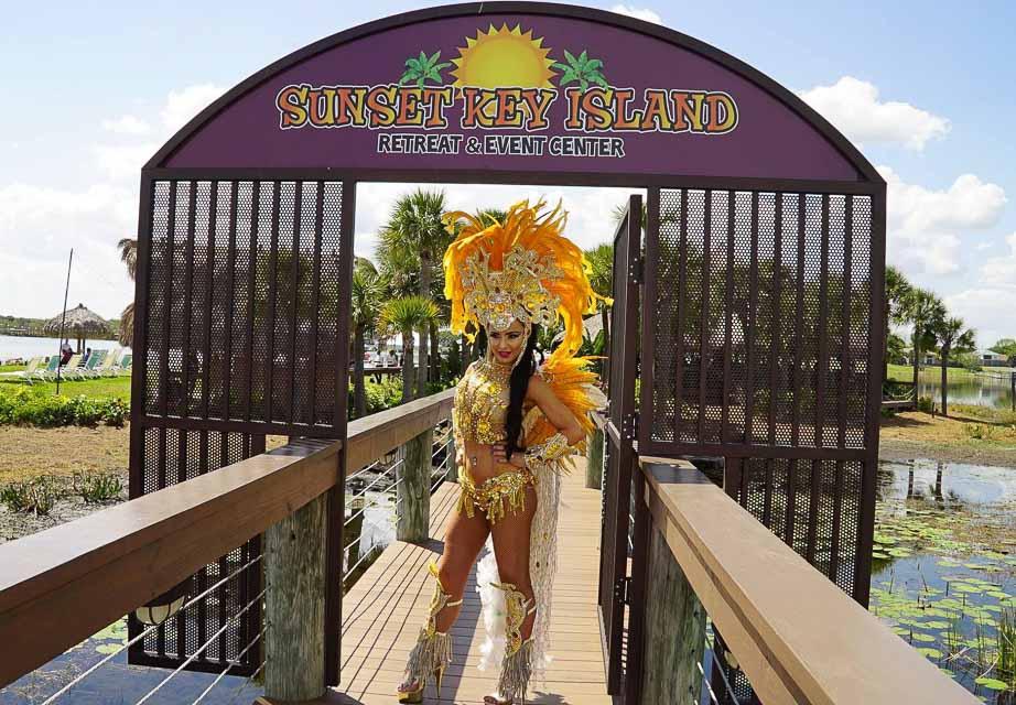 Musa fitness Phoebe Vecchioni mostra sua fantasia em ilha na Flórida. Foto: Zuleika Ferreira/Renato Cipriano - Divulgação