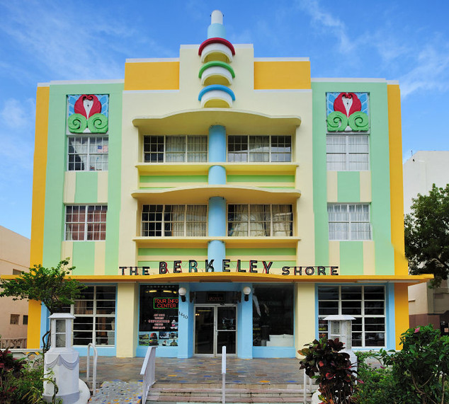 Berkeley Shore Hotel em South Beach em Miami