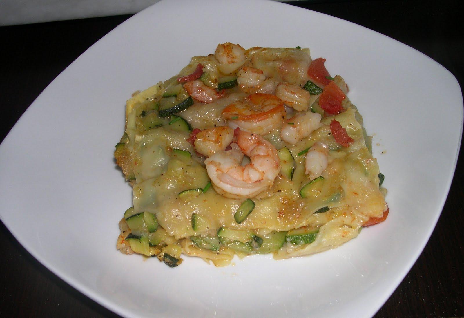 Cuciniamo Con Daniela Lasagne Con Gamberetti E Zucchine