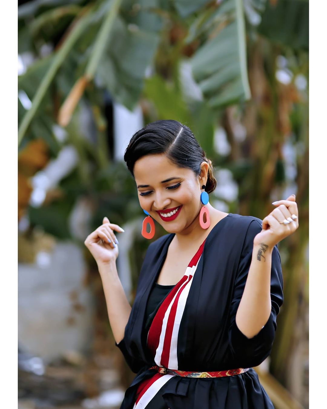 Anchor Anasuya Bharadwaj New Saree Photoshoot