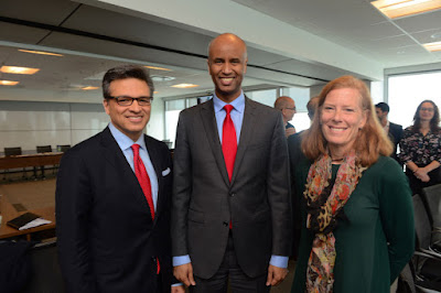 Goldy Hyder meeting with Ahmed D. Hussen