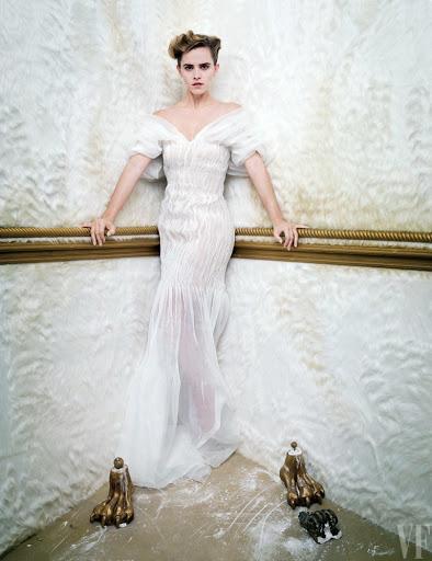 Emma Watson topless photoshoot for Vanity Fair magazine