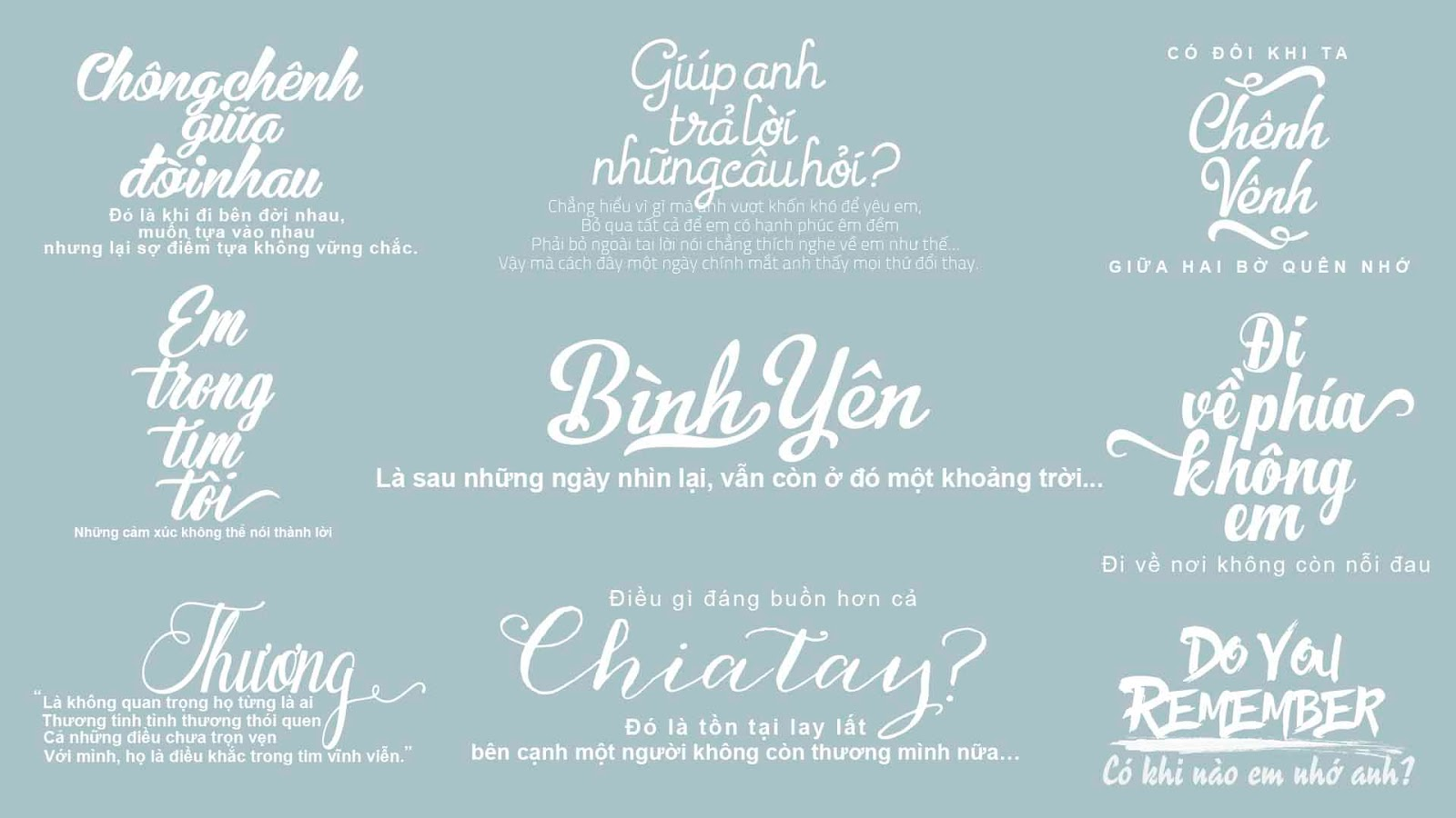 Typography siêu đẹp