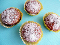 Cupcake με Σοκολάτα και Ινδική Καρύδα - by https://syntages-faghtwn.blogspot.gr