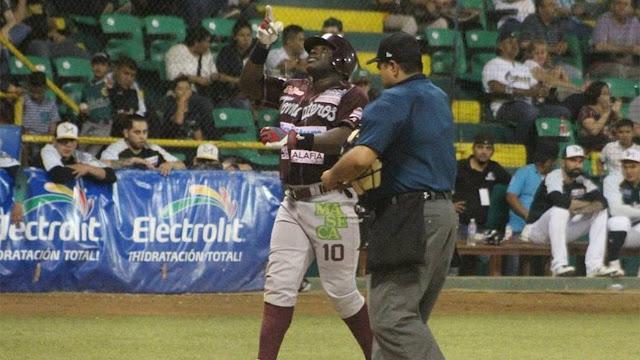 Ronnier Mustelier tuvo una destacada noche con el madero en triunfo de Culiacán