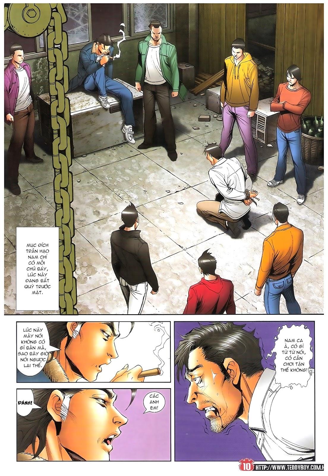 Người Trong Giang Hồ chapter 1696: giết vào vượng giác trang 9