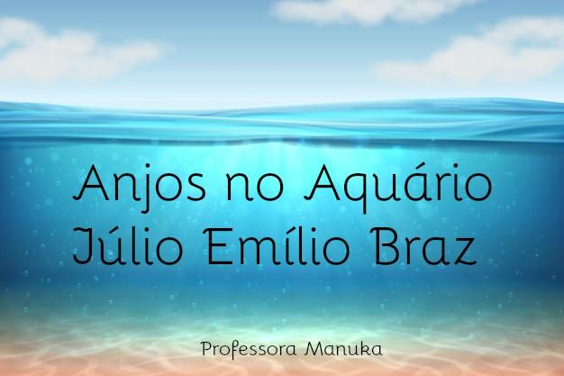 Resumo: Anjos no Aquário de Júlio Emílio Braz