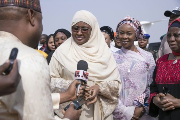 Aisha Buhari thanks Nigerians for supporting her husband