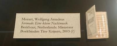 Mozart's Eine kleine Nachtmusik, Miniature Book