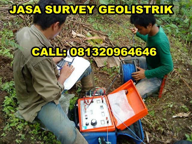 jasa pengukuran survey geolistrik murah