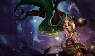 New Dryad Soraka Skin Wallpaper