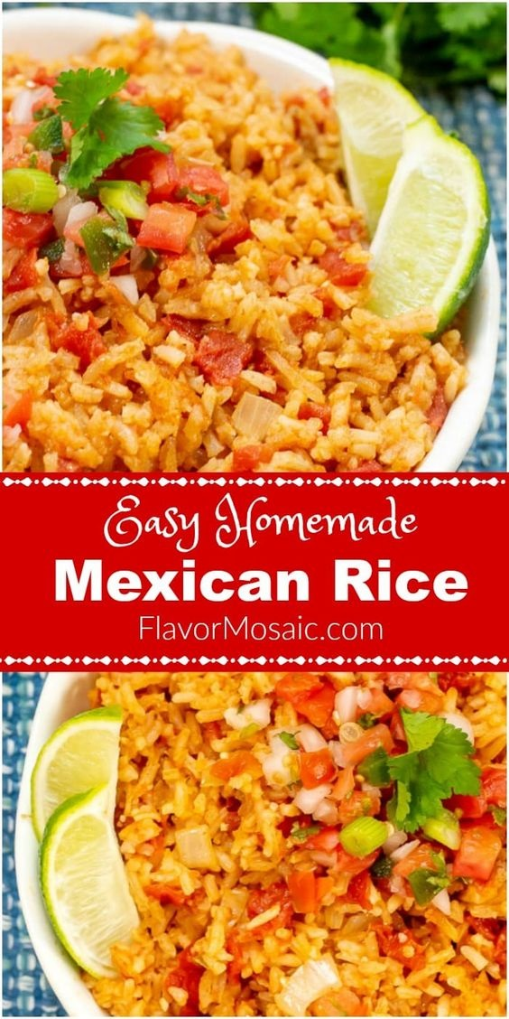 Easy Homemade Mexican Rice