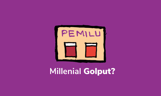 Anak Millenial di Pemilu 2019? Golput   - cakyus.web.id
