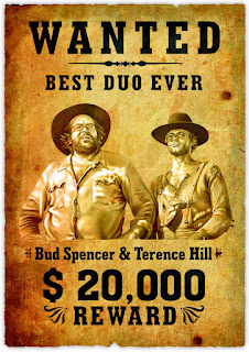 Wanted picture of Bud Spencer & Terence Hill