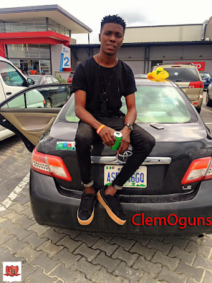 "Pro. Blogger Clement Ogudu Recounts On His Passed Glory As He Won The Vanguard Spark ""Rookie"" Of The Month November 2015"