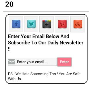 Code 20 ScreenShot