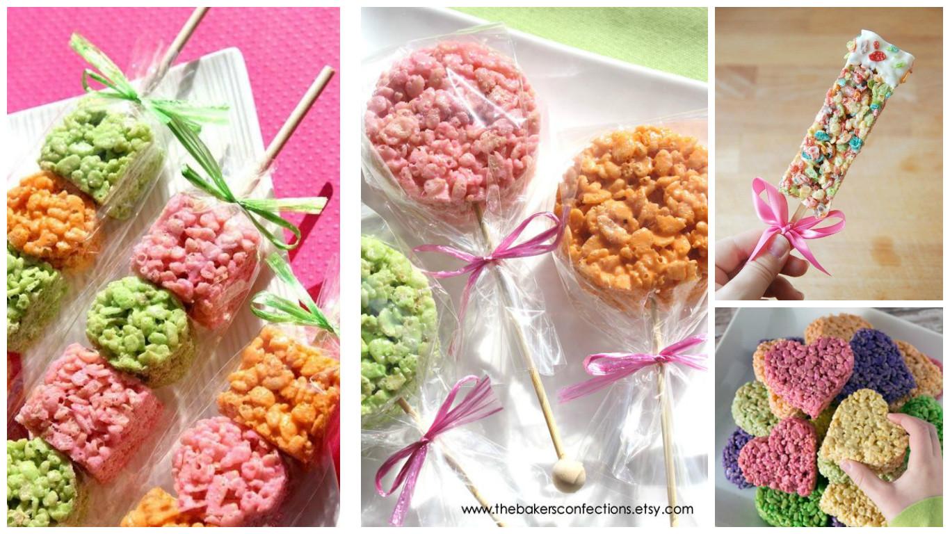 5da98dab5 Aprende cómo hacer paletas de cereal para mesa de dulces ~ lodijoella