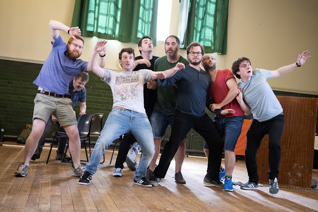 Mozart: Idomeneo - rehearsals for Buxton Festival - the festival chorus (Photo Richard Hubert Smith)