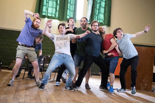 Mozart: Idomeneo - rehearsals for Buxton Festival - the festival chorus (Photo Richard Hubert Smith)