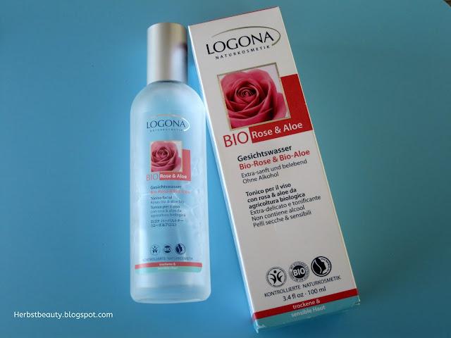 Logona Gesichtswasser Bio Rose & Bio Aloe